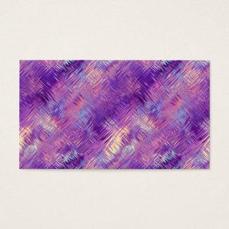 Amethyst Purple Crystal Gel Texture Business Card