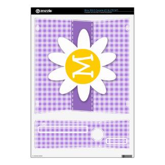 Amethyst Purple Gingham; Daisy Xbox 360 S Skins