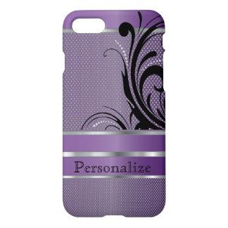 Amethyst Purple Metallic Mesh iPhone 7 Case