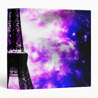 Amethyst Rose Parisian Dreams 3 Ring Binder