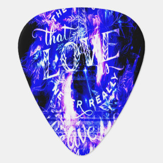 Amethyst Sapphire Parisian Dreams Ones that Love Guitar Pick