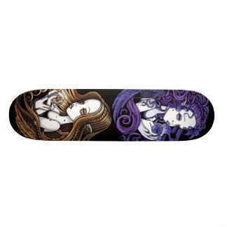 """Amethyst & Seika"" Crystal Ball Angels Skateboard"