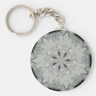Amethyst Spinning Star Nov 2012 Basic Round Button Keychain