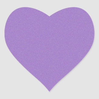 Amethyst Star Dust Heart Sticker