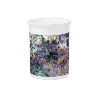amethyst stone texture 2.JPG Beverage Pitcher