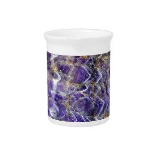 amethyst stone texture 5.JPG Beverage Pitcher