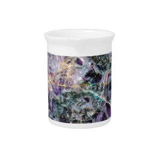 amethyst stone texture drink pitcher
