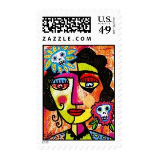 Amethyst Sugar Sull Frida by SilberZweigArts Stamps