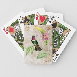 Amethyst Throated Sun Angel Hummingbird Bicycle Playing Cards