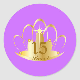 Amethyst TIARA, Sweet, 15 Sticker-Customize