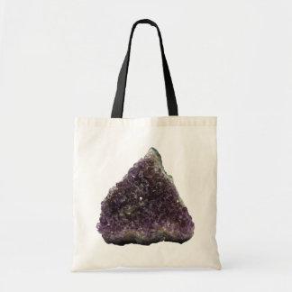 Amethyst Triangle Tote Bag