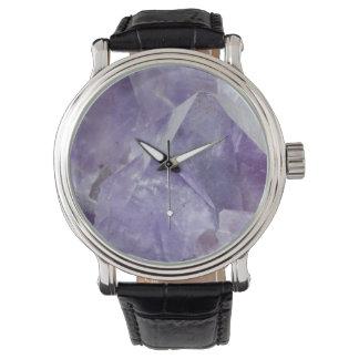 Amethyst Wrist Watch