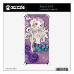 Amethyste Mermaid iPhone Skin iPhone 4S Decal