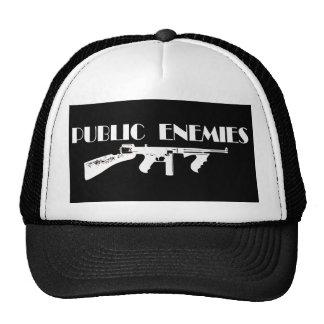 Ametralladora de los enemigos públicos gorra