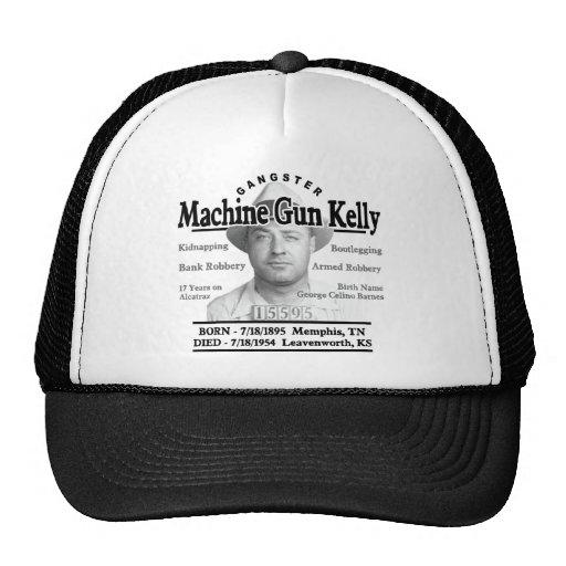Ametralladora del gángster Kelly Gorras De Camionero