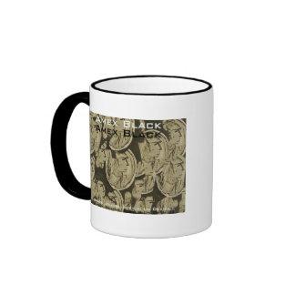 amex black mug