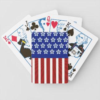 amflag bicycle playing cards