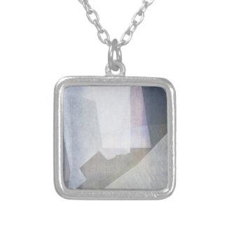 Amfortas - Selassie - Adam 1998 Square Pendant Necklace