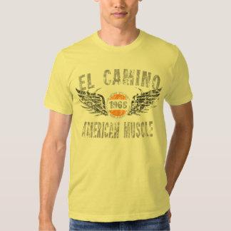 amgrfx - camiseta 1968 del EL Camino Playeras