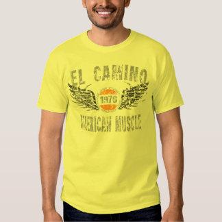 amgrfx - camiseta 1970 del EL Camino Remera