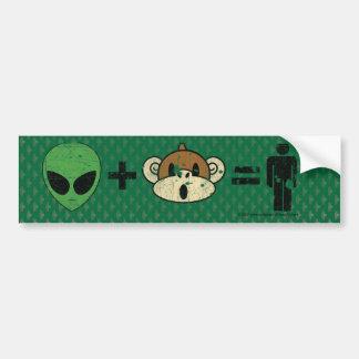 AMH green Car Bumper Sticker