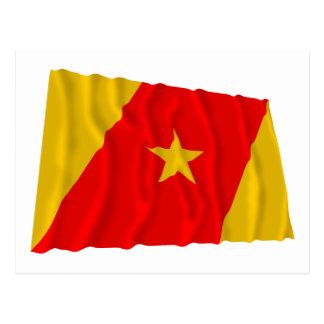 Amhara Waving Flag Postcard
