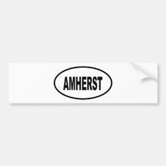 AMHERST BUMPER STICKER