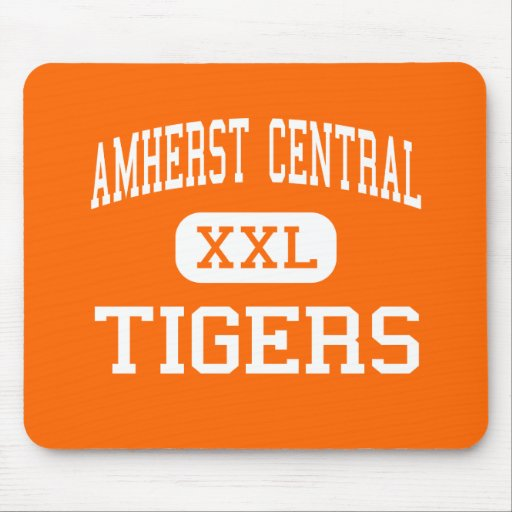 Amherst Central - Tigers - High - Amherst New York Mouse Pad