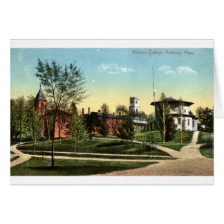 Amherst College Repro Vintage 1912 Greeting Card