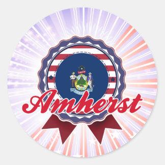 Amherst, ME Sticker