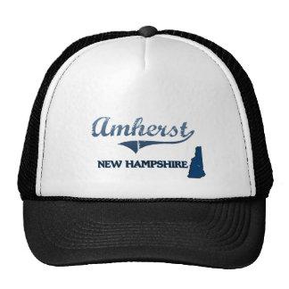 Amherst New Hampshire City Classic Trucker Hat