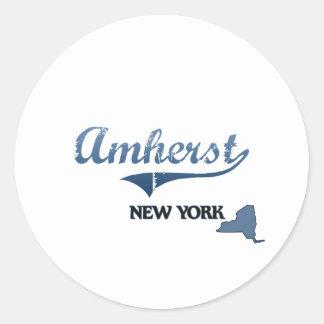 Amherst New York City Classic Sticker