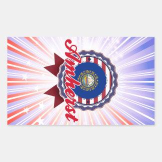 Amherst, NH Rectangular Stickers