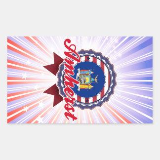 Amherst, NY Rectangle Sticker