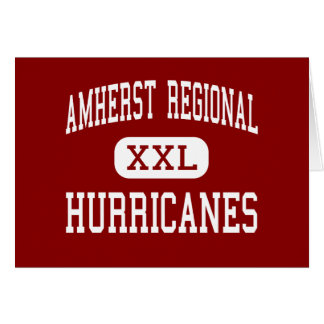 Amherst Regional - Hurricanes - Middle - Amherst Greeting Card