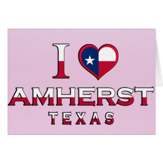 Amherst, Texas Greeting Card