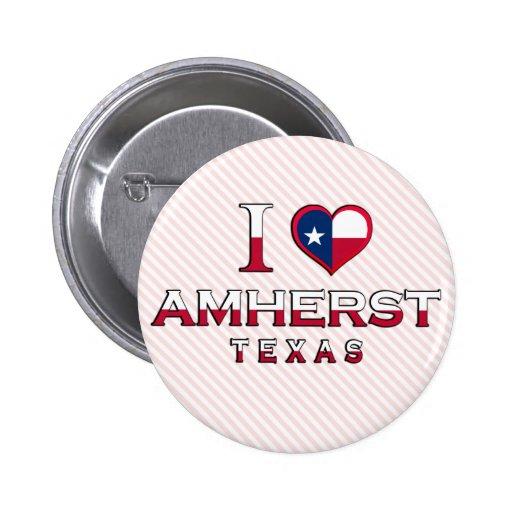 Amherst, Texas Pinback Button