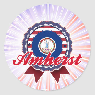 Amherst, VA Stickers