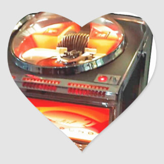 AMI Continental 2 Jukebox Heart Sticker