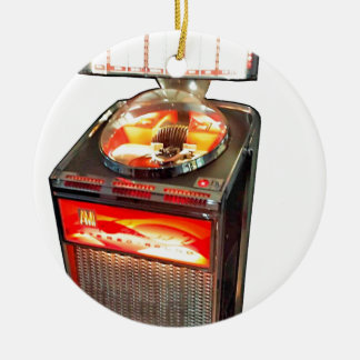 AMI Continental 2 Jukebox Double-Sided Ceramic Round Christmas Ornament