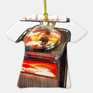 AMI Continental 2 Jukebox Double-Sided T-Shirt Ceramic Christmas Ornament