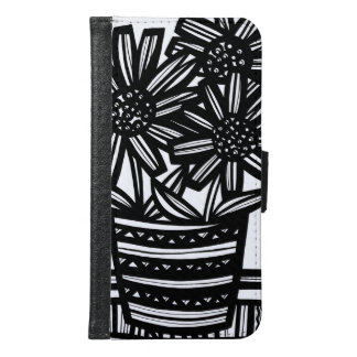 Amiable Frank Special Thriving Wallet Phone Case For Samsung Galaxy S6
