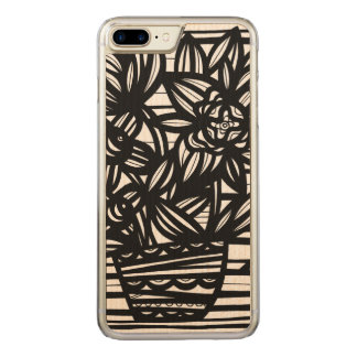 Amicable Green Unwavering Amazing Carved iPhone 7 Plus Case