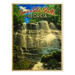 Amicalola Falls Georgia Post Card