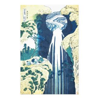 Amida baja (el siglo XIX de Katsushika Hokusai) Papelería Personalizada
