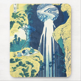 Amida Falls (Katsushika Hokusai 19th century) Mouse Pad