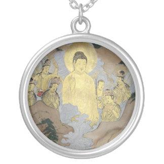 Amida raigo silver plated necklace