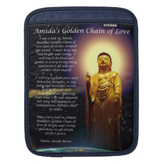 Amida s Golden Chain of Love 1 Sleeves For iPads