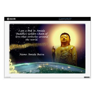 Amida s Golden Chain of Love 2 Decal For Laptop