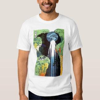 Amida Waterfall on the Kisokaido Road, Hokusai Shirt